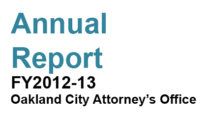 Annual Report for Fiscal Year 2012-13